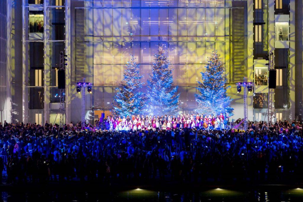 Ήρθαν τα Χριστούγεννα στο Κέντρου Πολιτισμού Ίδρυμα Σταύρος Νιάρχος